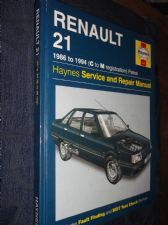COLLECTABLE 1997 HB 1397 HAYNES WORKSHOP MANUAL 1986 - 1994 RENAULT 21 PETROL